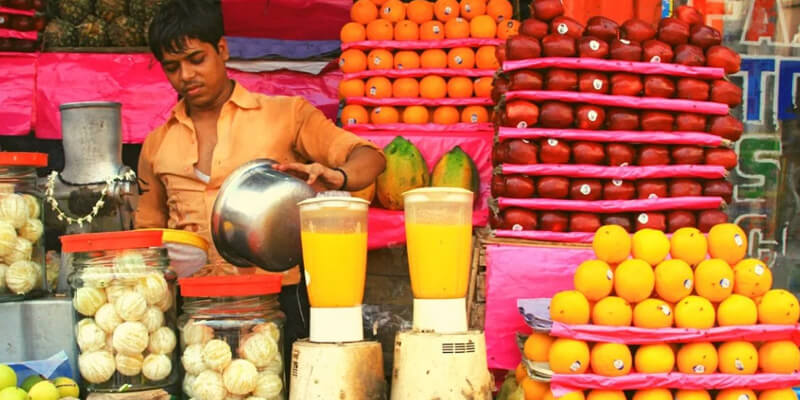 رعایت بهداشت در آبمیوه فروشی ها